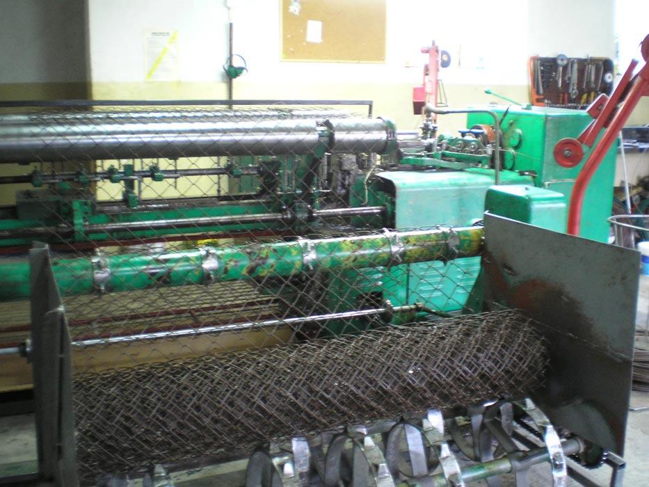 Автомат для сетки рабица